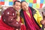Nyima Dorje Rinpoche of Tibetan Cultural Center in Xining and Garchen Rinpche of Gar monastery