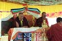 H.E. Chöje Ayang Rinpoche and Ayang Drubchen Rinpoche of Ayang Monastary.