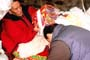 Tashi Jamyangling receiving blessings from Togden Yunga Rinpoche