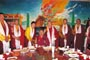 We hosted a dinner to the Drigung Lamas at the end of their two-day meeting held in Yushu